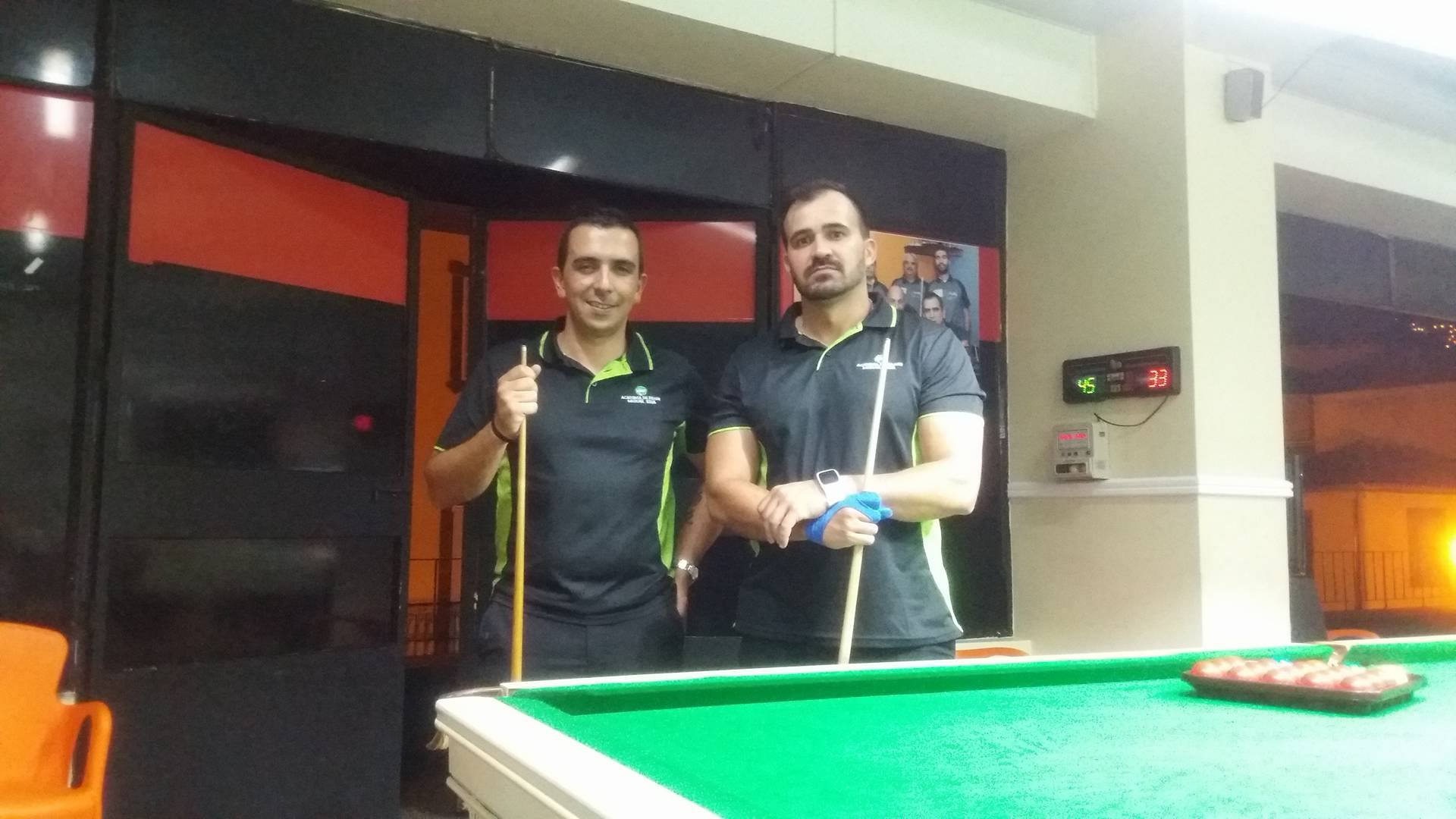 VENCEDORES DO 1º TORNEIO DE SNOOKER