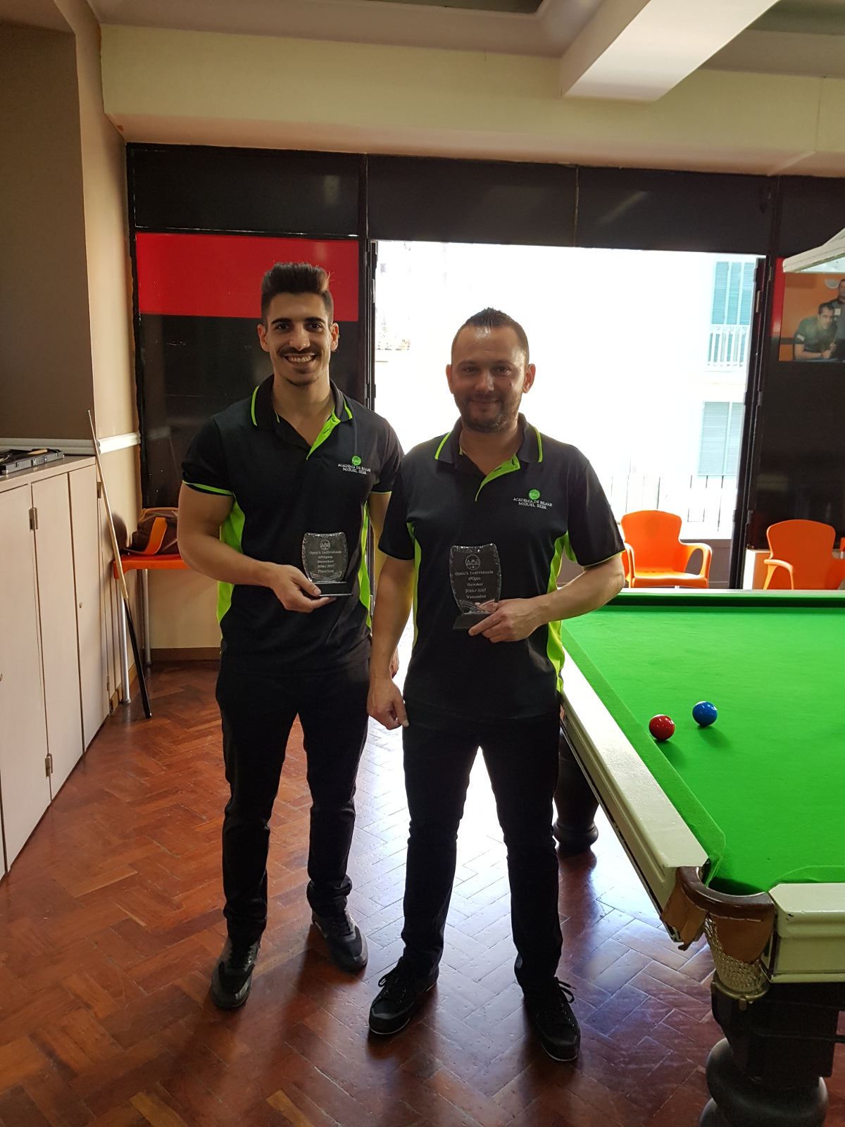 VENCEDOR DO 6º OPEN DE SNOOKER
